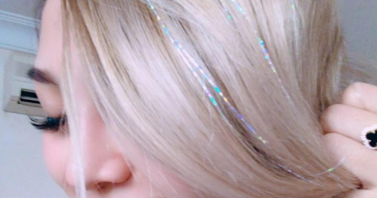 TLC Holographic Hair Tinsels